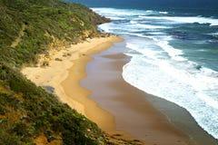 Spiaggia di Glenair in Australia Fotografia Stock Libera da Diritti