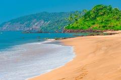 Spiaggia di Goa Immagine Stock Libera da Diritti