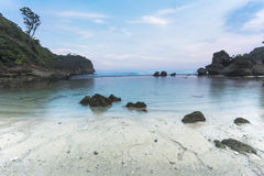 Spiaggia di Goa Cina Fotografie Stock Libere da Diritti