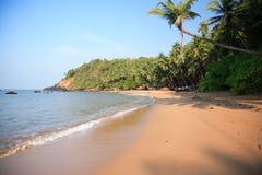 Spiaggia di Goan Immagine Stock