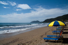 Spiaggia di Gordis di aggi Fotografia Stock