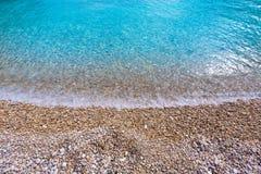 Spiaggia di Granadella della La di Javea in Xabia Alicante Spagna Immagini Stock Libere da Diritti