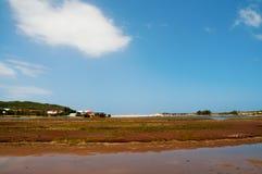 Spiaggia di Groot Brak Immagini Stock Libere da Diritti