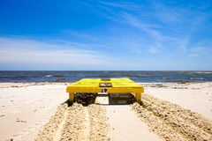 Spiaggia di Gulfport Fotografia Stock