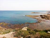 Spiaggia di Habonim Immagini Stock Libere da Diritti