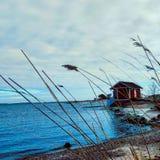 Spiaggia di Hanko Fotografia Stock Libera da Diritti