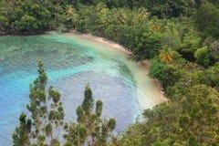 Spiaggia di Harlem, Papuasia, Indonesia Immagini Stock Libere da Diritti