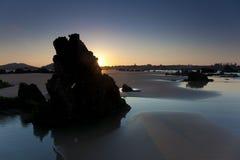 Spiaggia di Helgueras Fotografia Stock