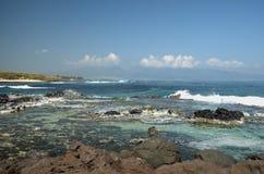 Spiaggia di Hoopika, Maui Fotografie Stock