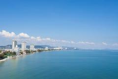 Spiaggia di Hua Hin in Tailandia fotografie stock libere da diritti