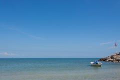 Spiaggia di Hua Hin in Tailandia immagine stock libera da diritti
