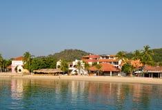 Spiaggia di Huatulco fotografie stock libere da diritti