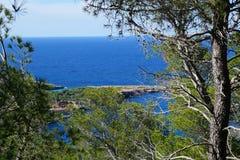 Spiaggia di Ibiza fotografie stock libere da diritti