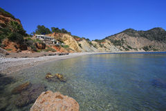 Spiaggia di Ibiza della barra del salotto Immagini Stock Libere da Diritti