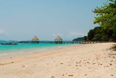 Spiaggia di indipendenza in Cambogia Fotografia Stock