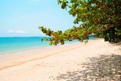 Spiaggia di indipendenza in Sihanoukville Fotografia Stock Libera da Diritti