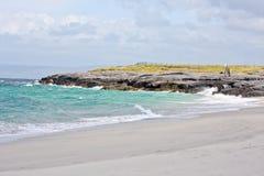 Spiaggia di Inisheer, contea Galway, Irlanda Immagini Stock Libere da Diritti