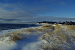Spiaggia di inverno Immagine Stock Libera da Diritti