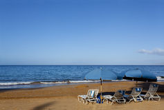 Spiaggia di inverno di Wailea Fotografia Stock Libera da Diritti