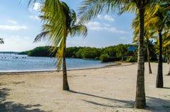 Spiaggia di Isla Verde, San Juan Immagini Stock