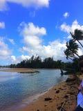 Spiaggia di Isla Verde, San Juan Fotografia Stock Libera da Diritti