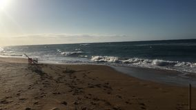 Spiaggia di Isla Verde, San Juan Fotografie Stock