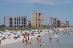 Spiaggia di Jacksonville Immagine Stock Libera da Diritti