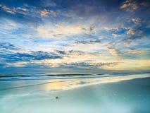 Spiaggia di Jacksonville Immagini Stock