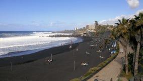 Spiaggia di Jardin, Tenerife video d archivio