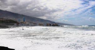 Spiaggia di Jardin in Tenerife archivi video