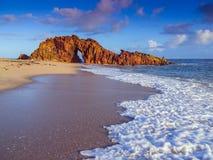 Spiaggia di Jericoacoara Immagine Stock