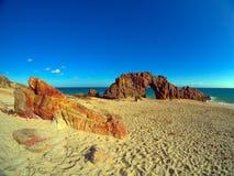 Spiaggia di Jericoacoara immagini stock