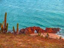 Spiaggia di Jericoacoara Immagine Stock Libera da Diritti