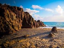 Spiaggia di Jericoacoara Fotografia Stock Libera da Diritti