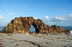 Spiaggia di Jericoacoara, Brasile Fotografia Stock