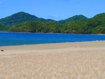 Spiaggia di Junquillal Fotografie Stock