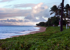 Spiaggia di Kaanapali in Maui Hawai Fotografie Stock