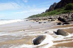 Spiaggia di Kalalau Fotografia Stock