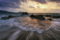 Spiaggia di Kalim a Phuket Tailandia Fotografia Stock