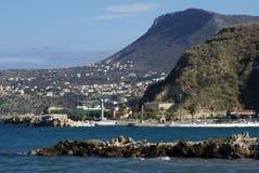 Spiaggia di Kalyves in Creta, Grecia, Europa Immagini Stock Libere da Diritti