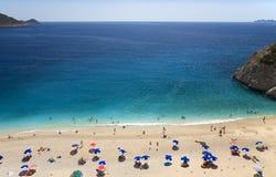 Spiaggia di Kaputas Immagine Stock