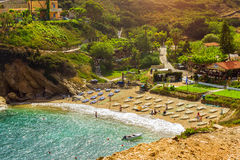 Spiaggia Di Karavostasi & Di Evita Nella Località Di Soggiorno ...