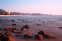 Spiaggia di Karon Fotografia Stock