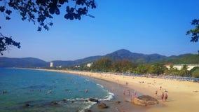 Spiaggia di Karon Fotografia Stock Libera da Diritti