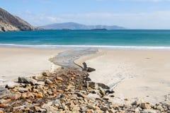 Spiaggia di Keem Immagini Stock