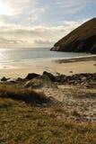Spiaggia di Keem all'isola di Achill Fotografie Stock Libere da Diritti
