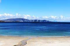 Spiaggia di Keem, isola di Achill, Irlanda Immagini Stock