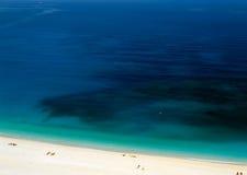 Spiaggia di Kefalonia Fotografia Stock