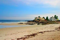 Spiaggia di Kennebunk, Maine fotografia stock