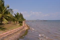 Spiaggia di Kep - Cambogia Immagini Stock Libere da Diritti